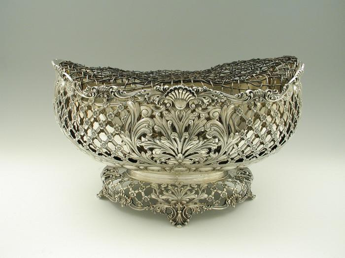 Photograph of silver bowl